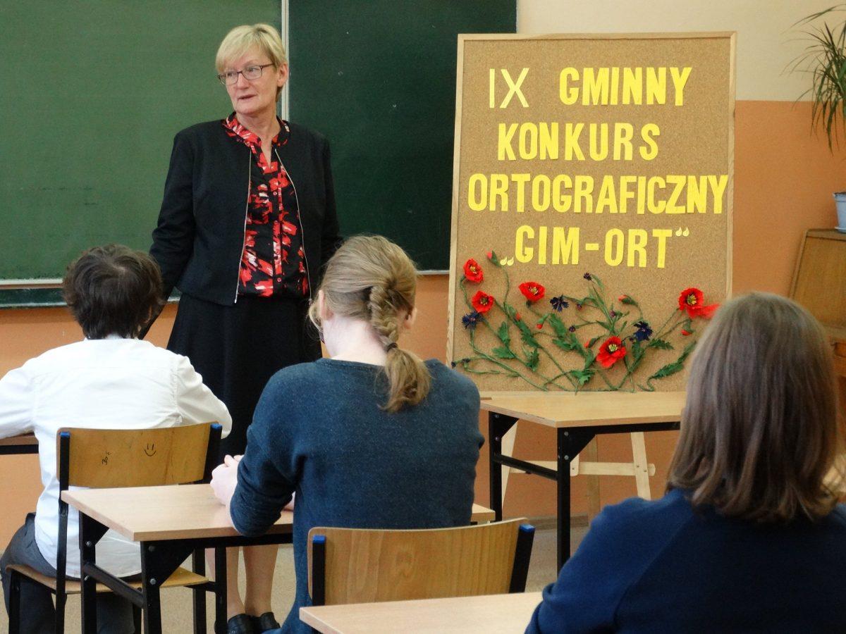 IX Gminny Konkurs Ortograficzny GIM-ORT