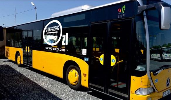 Autobus Komunikacji Miejskiej w Śremie firmy Totem