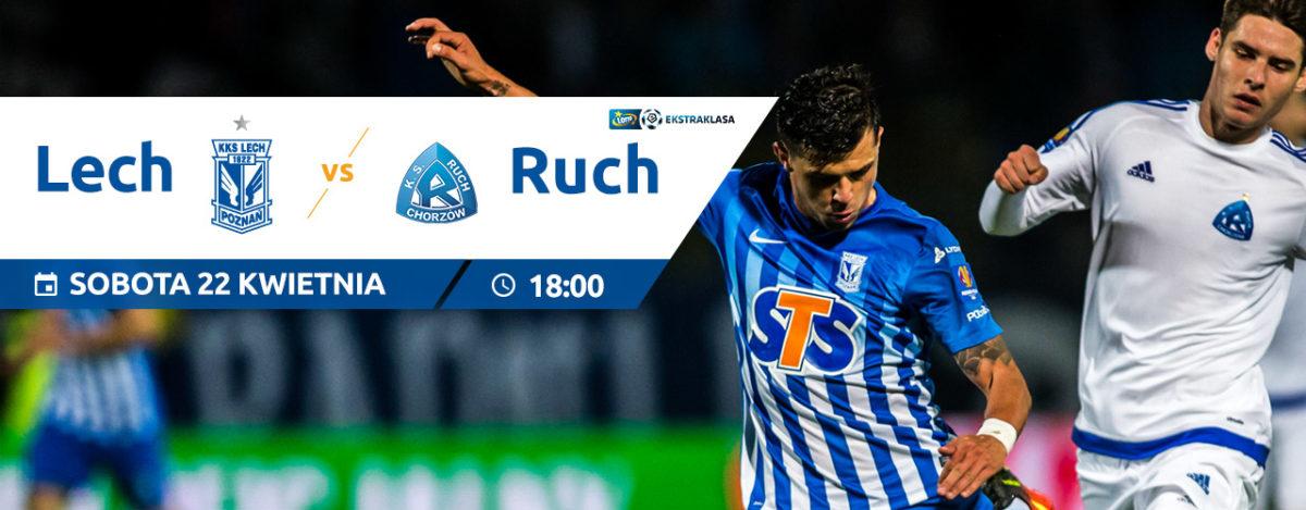 Ostatni mecz rundy zasadniczej przy Bułgarskiej: Lech - Ruch