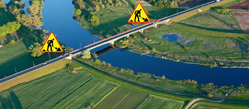 Remont mostu - utrudnienia w Śremie od maja do sierpnia