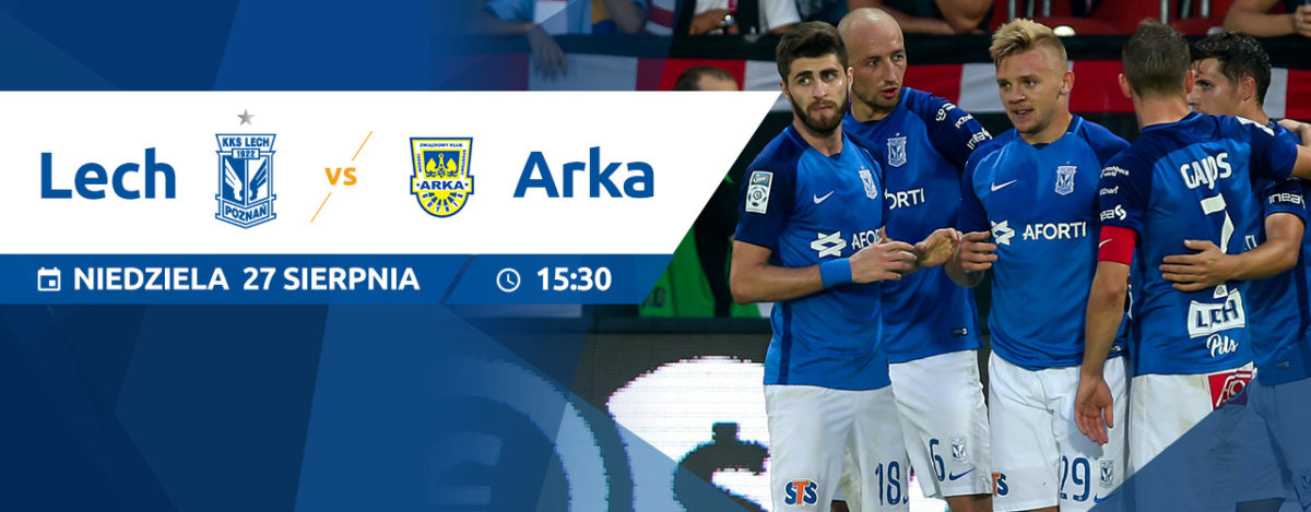 Lech Poznań - Arka Gdynia, czyli mecz przyjaźni już w niedzielę [Konkurs]
