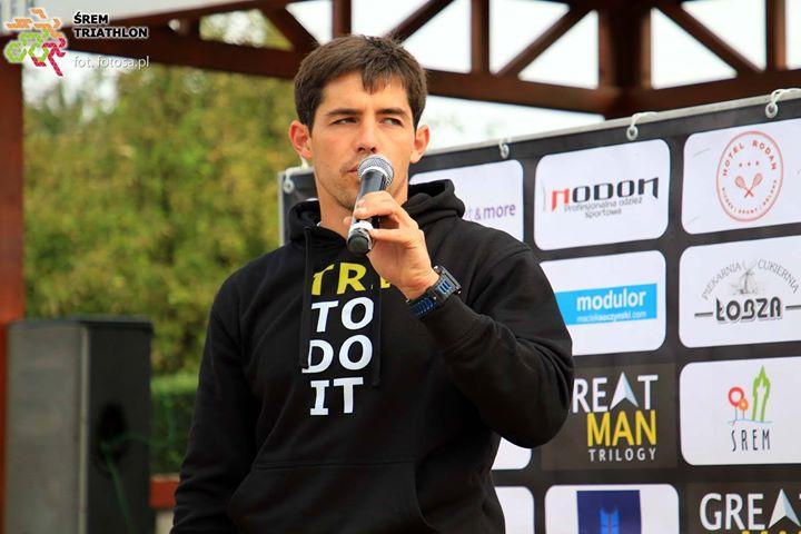 Paweł Kotas, pomysłodawca zawodów triathlonowych Great Man Trilogy