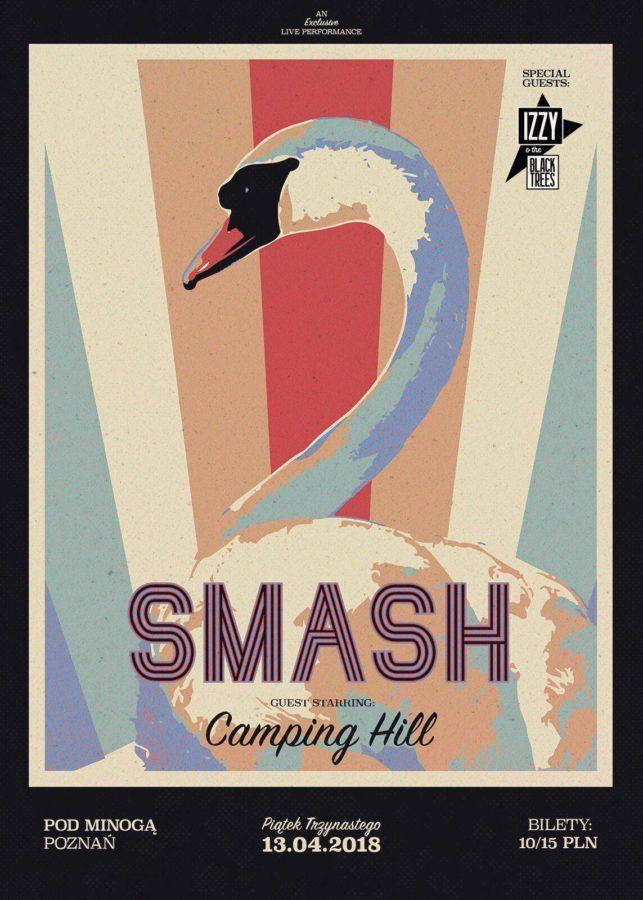 Śremskie natarcie muzyczne w Poznaniu: Smash, Camping Hill, Izzy and the Black Trees