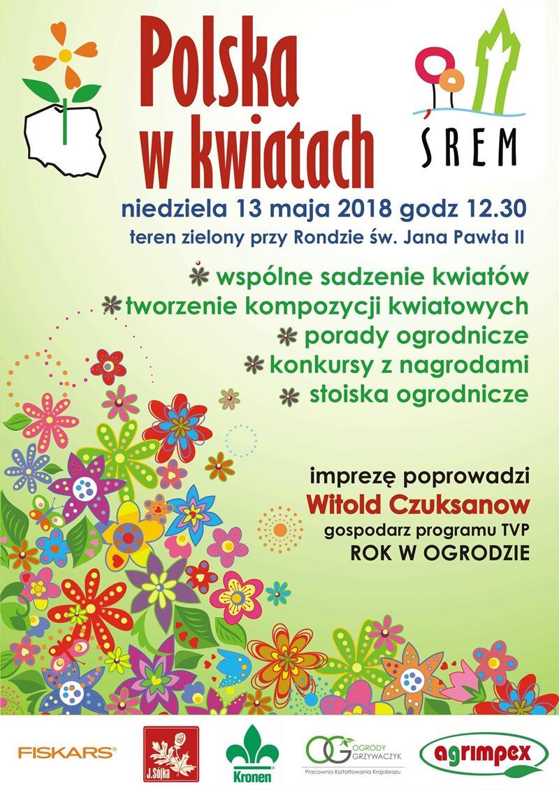 Polska w kwiatach - edycja w Śremie