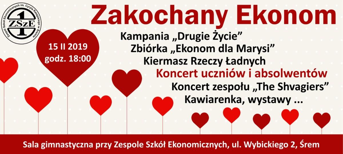 Koncert Uczniów i Absolwentów Zakochany Ekonom