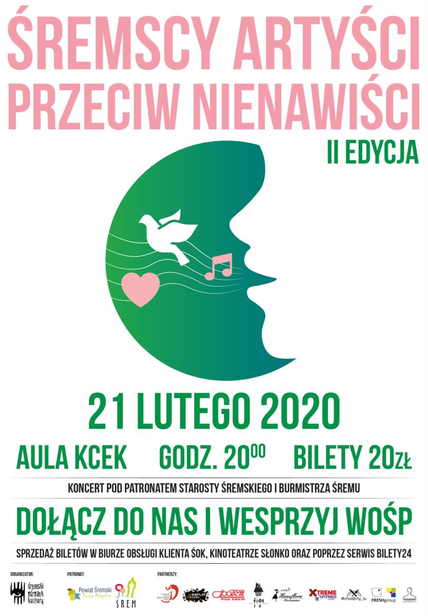Śremscy Artyści Przeciw Nienawiści II edycja