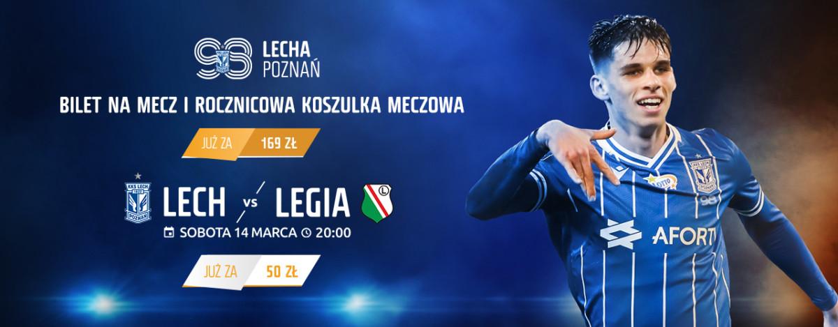 Lech - Legia: ruszyła sprzedaż biletów