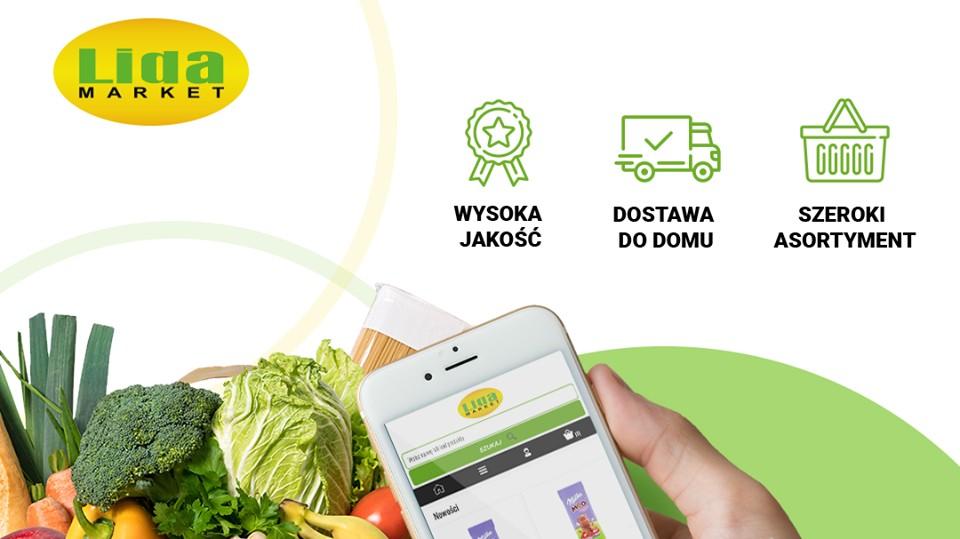 Market Lida uruchamia sprzedaż produktów spożywczych online z dostawą do domu