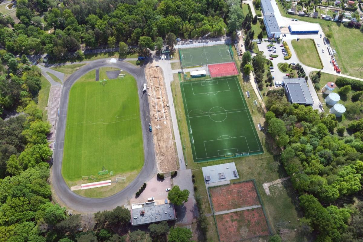 Nowy stadion w Parku Powstańców Wlkp. w Śremie