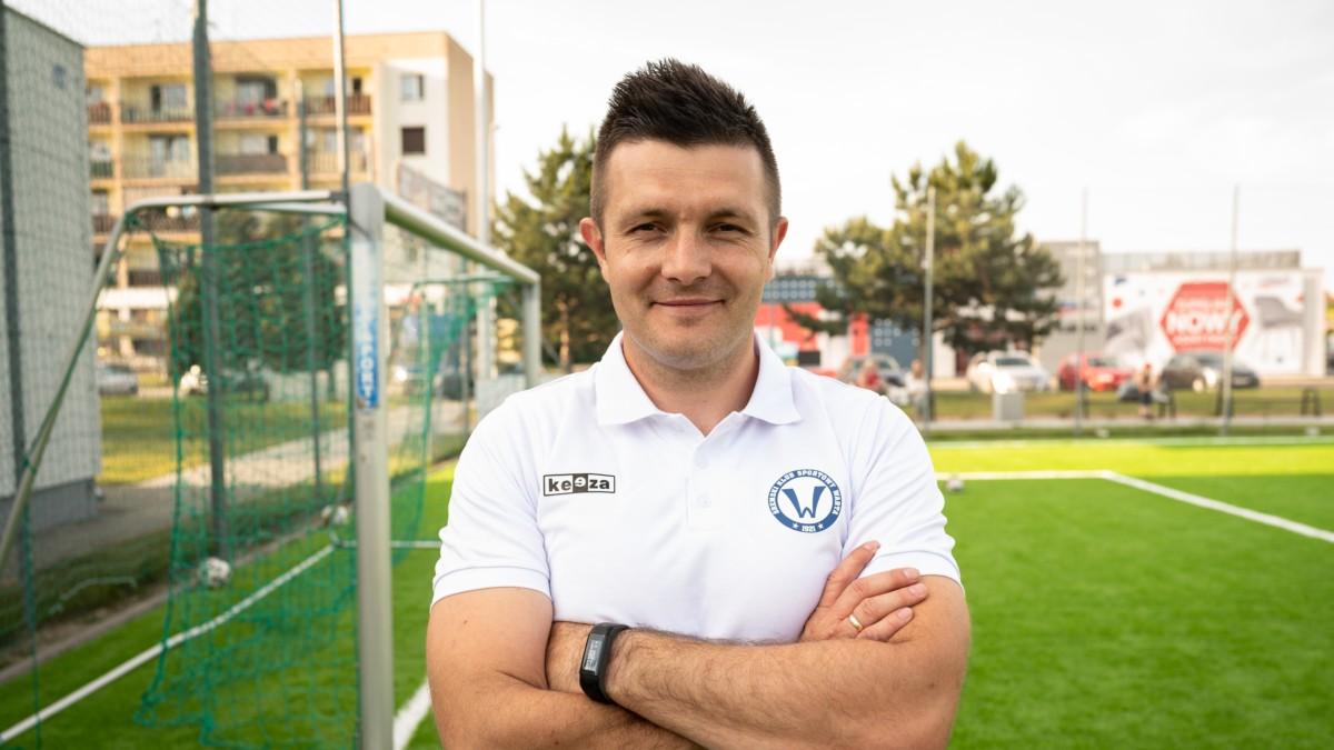 Piotr Rymaniak, trener koordynator grup młodzieżowych Akademii Piłkarskiej Młoda Warta