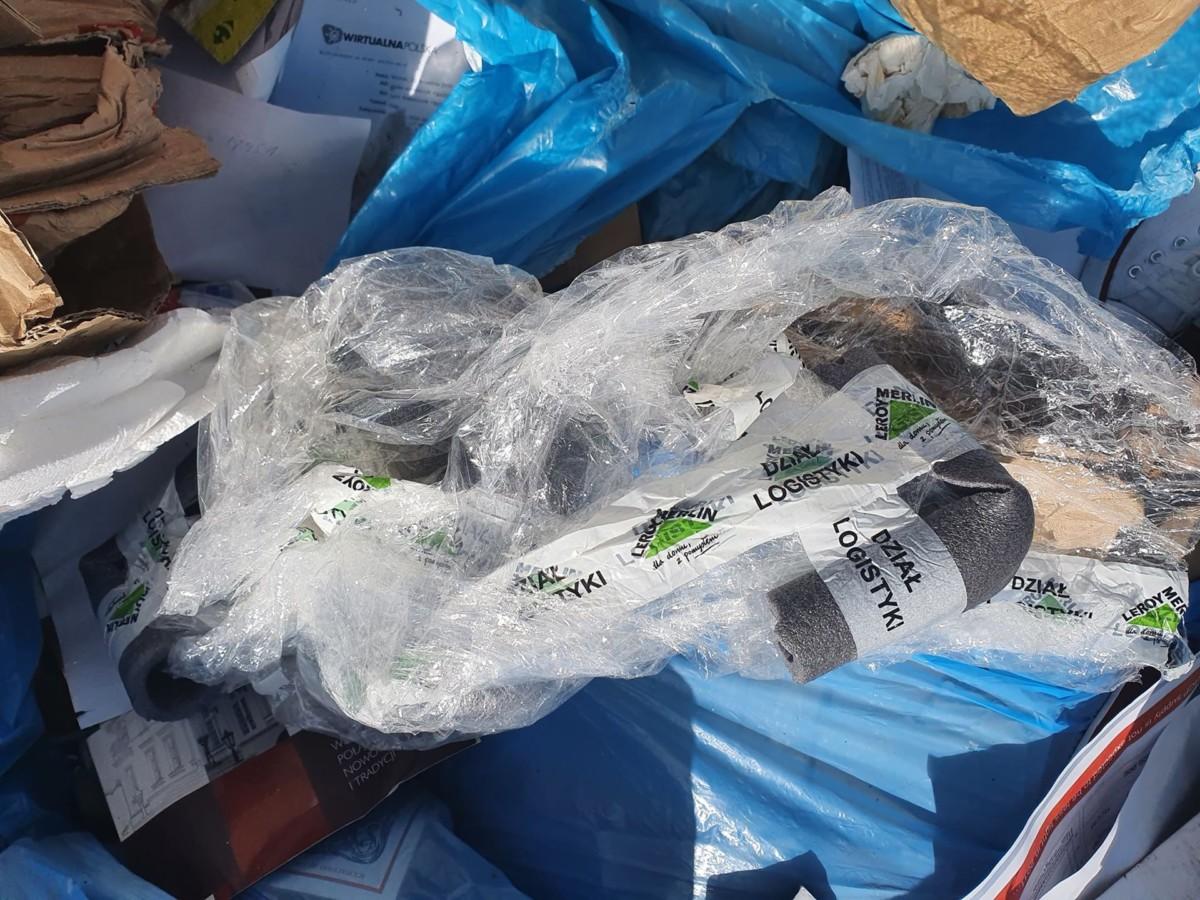 Źle zegregujemy śmieci: skontrolowano stację przeładunkową w Mateuszewie
