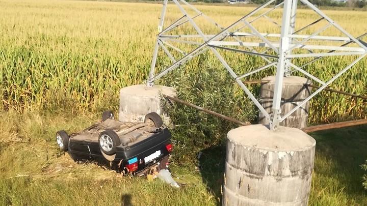 Tragiczny w skutkach wypadek na drodze relacji Śrem - Kórnik (foto: Agnieszka Gans)