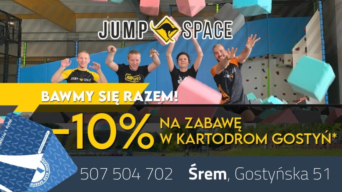 Jump Space - Park Trampolin w Śremie