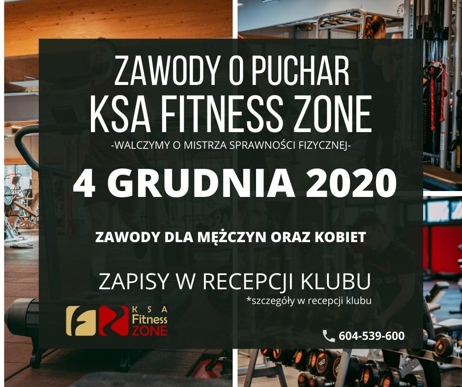 Zawody o Puchar KSA Fitness Zone