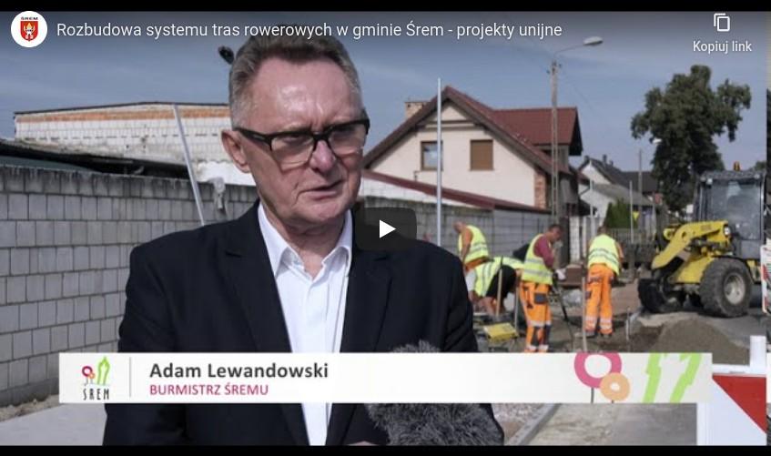 Gmina Śrem buduje ścieżkę rowerową do Zbrudzewa