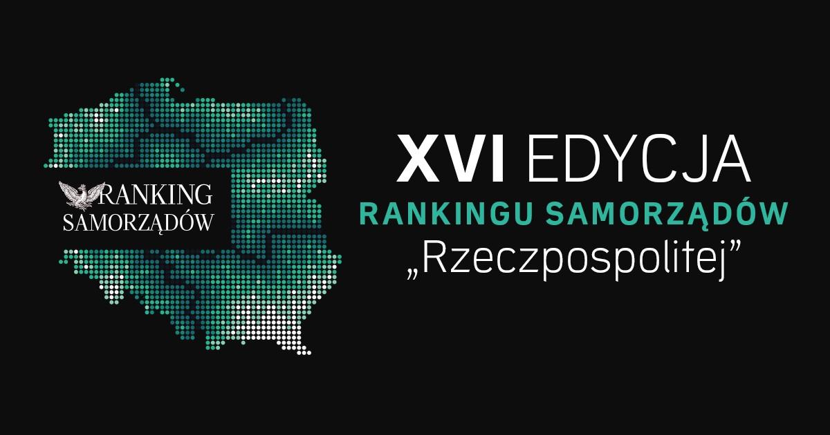 16 miejsce gminy Śrem w Rankingu Samorządów Rzeczpospolitej