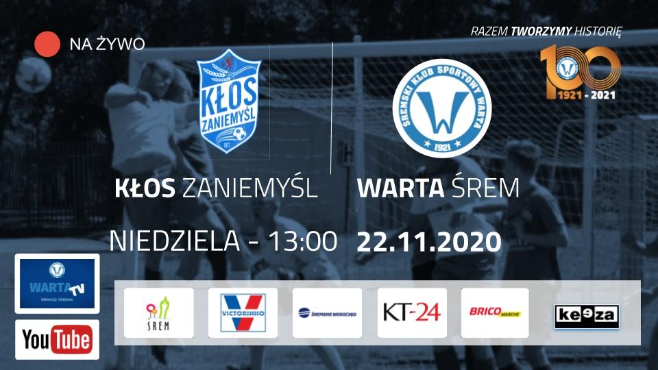 Czas na derby. Piłkarska uczta Kłos - Warta na żywo na YouTube na kanale WartaTV