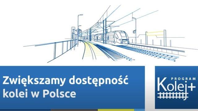 Linia kolejowa na odcinku Śrem – Czempiń w drugim etapie programu Kolej+