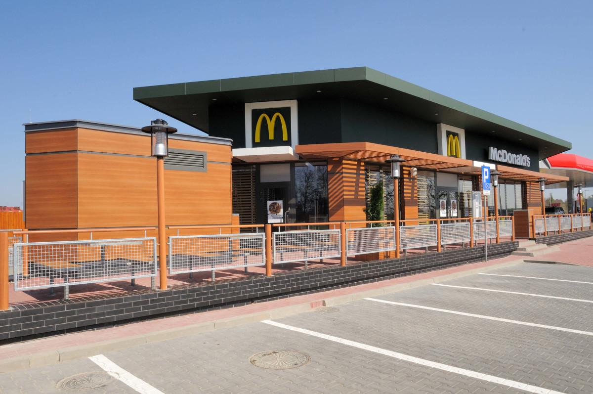 Powstaje McDonald's w Śremie - przy drodze wyjazdowej na Gostyńskiej