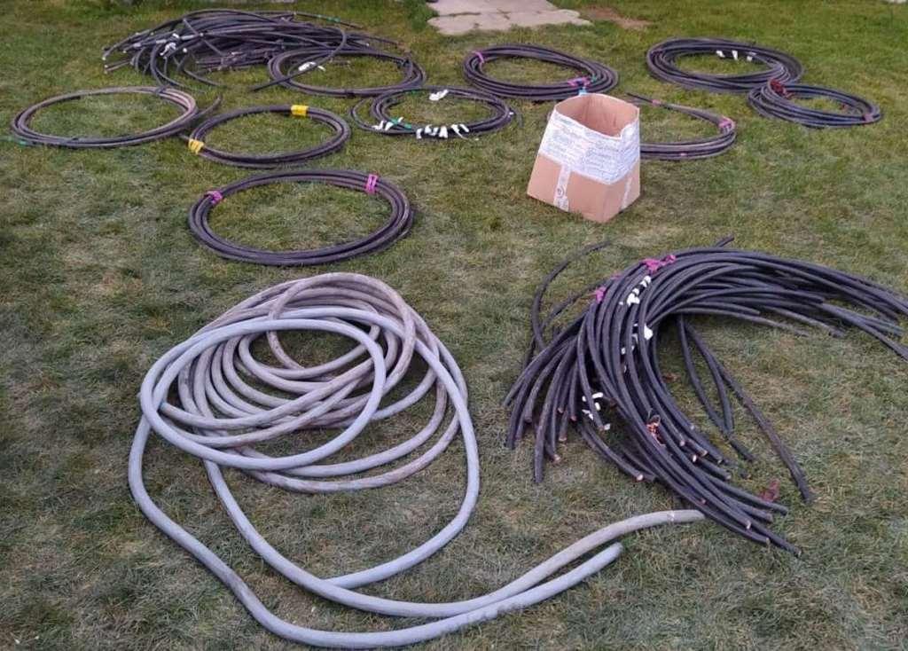 Ukradli kabel ziemny o wartości 20.000 zł - wpadli w ręce policji