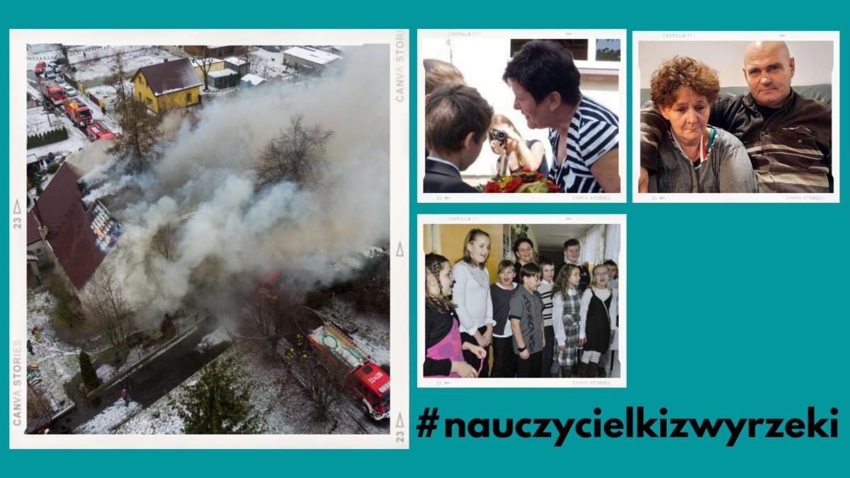 Odbudujmy doszczętnie spalony dom dwóm emerytowanym nauczycielkom z Wyrzeki