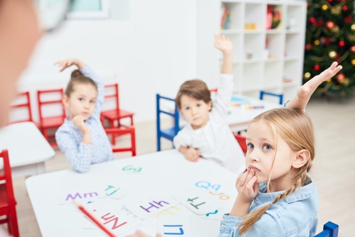 Lesson in kindergarten