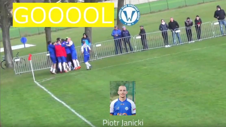 Janicki w 96 minucie daje Warcie Śrem zwycięstwo!