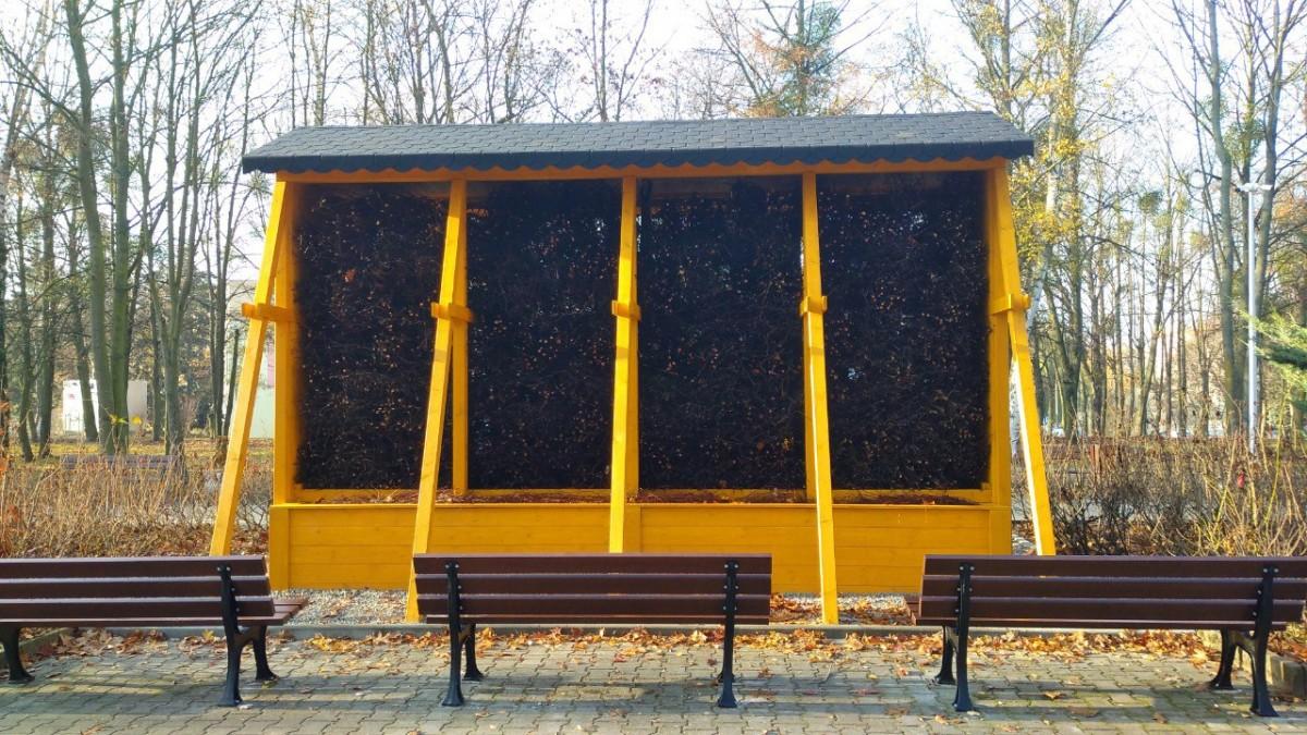 Tężnia solanowa w Parku Śremskich Odlewników